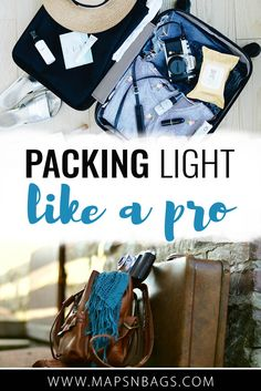 How to pack light? The answer to that question is much easier than you think. Here, I've listed what I learned on the road about packing light. Weekend Packing, Packing Tips For Vacation, Travel Packing, Travel Tips, Packing Lists, Packing Hacks, Travel Guides, Travel Outfits, Travel Advice