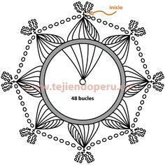 horquilla - hairpin lace                                                                                                                                                                                 Más