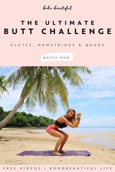 Workout Dvds, Pilates Workout, Butt Workout, Workout Videos, Pilates Yoga, Pilates Reformer, Home Exercise Program, At Home Workout Plan, Workout Programs
