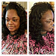 Crochet Braids European Hair : Crochet using Noble Roots European Deep Hair w/minimal leave out www ...