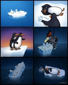 Funny pictures about Titanic: the untold story. Oh, and cool pics about Titanic: the untold story. Also, Titanic: the untold story. Really Funny, Funny Cute, The Funny, Memes Del Titanic, Funny Images, Funny Pictures, Funny Jokes, Hilarious, Tragic Love Stories