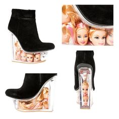 Check Out Jeffrey Campbell's Barbie Heads Heeled Wedges | LAVISH REBELLION