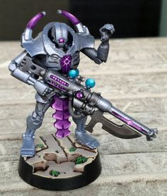 Necron Harbinger of Despair | Re: Decepticrons, Rise Up! (Purple Necrons)