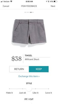 Great neutral shorts
