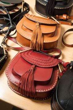 You can almost smell the leather, they are so beautiful! (TheyAllHateUs)