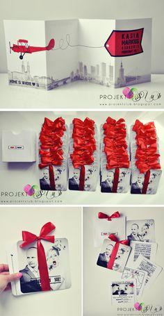 Zaproszenia autorstwa Projekt Ślub