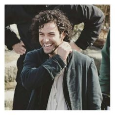 Aidan Turner behind the scenes of Poldark series 2 ( not sure who took this)   #poldark #aidanturner  #Qotd: How was your day? #aotd: It was pretty good, even though I had school aha  Comment below your answer if you want to