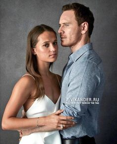 Michael & Alicia being perfect for Entertainment Weekly