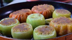 Stekta gröna tomater