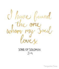 """Song of Solomon 3:4 - Customer Request"" by Tangerine-Tane 