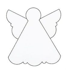 Christmas+Angel+Patterns | Make an angel Christmas card - Handmade Christmas cards :: allaboutyou ...
