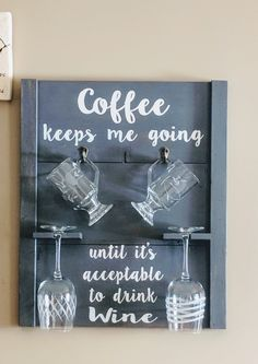 Says it all!! Hand Painted Signs, Wine Drinks, Art Quotes, Chalkboard, Decor, Decoration, Chalkboards, Decorating, Chalk Board