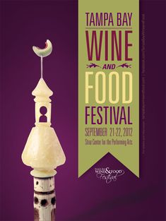 Tampa Wine and Food Festival Poster