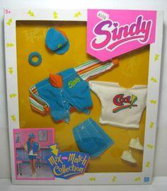 1992 VTG HASBRO SINDY FASHIONS MIX AND MATCH COLLECTION MISB BRAND NEW b | eBay