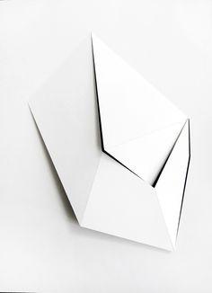 Mie Olise. A Way In, 30 x 40 x 5 cm, Cardboard cut framed in Box, 2012