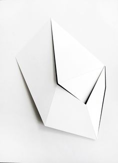 Model - Mie Olise   A Way In, 2012   Cardboard    30 x 40 x 5 cm,