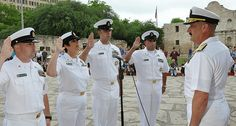 100422-N-3750S-271 SAN ANTONIO (April 22, 2010) Rear Admiral Albert Garcia III, Civil Engineer Corps deputy commander, Naval Facilities Engineering Command, deputy chief of Civil Engineers (right), administers the oath of enlistment to (from left) Ch YBC offers your company a free onsite consultation that will provide you with helpful decision-making information that our clients, including many Fortune 500 companies, already know