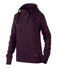 Energize your activewear collection with this casual hoodie boasting snuggly French terry fabric and an adjustable hood for a just-right fit. Body: 100% polyesterContrast: 86% polyester / 14% cottonMachine washImported