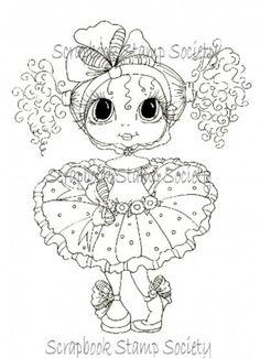 Miss Matilda besties digi stamp by Sherri Baldy