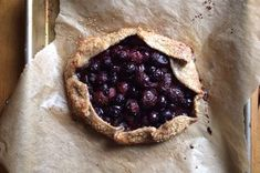 Cherry-Blueberry Rustic Rye Galette  Recipe on Food52 recipe on Food52