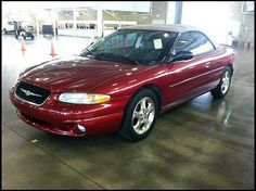 2000 Chrysler Sebring Convertible 2.5L V6...the little red car I dreamed of but never got!