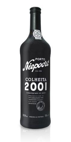 Vinho do Porto Niepoort Colheita 2001 Creative Gourmet, Spirit Drink, Wine Stoppers, Coffee Bottle, Marsala, Bartender, Vodka Bottle, Liquor, Brewing