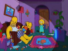 Bart And Lisa Simpson, Goat Cartoon, Simpsons Drawings, I Need Love, Mood Pics, Futurama, The Simpsons, Cartoon Characters, Movies And Tv Shows