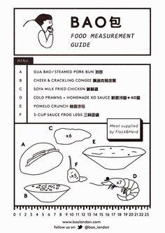 B A O (bao_london) on Twitter Restaurant Menu Design, Restaurant Concept, Restaurant Branding, Menu Layout, Poster Layout, Bao London, Brochure Design, Branding Design, Tea Logo