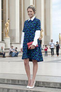 Diamo i voti a 10 look street style catturati alla fashion week di Parigi / Street style / moda / Home page - Cosmopolitan