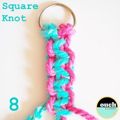 .: KNOT SCHOOL......Square Knot