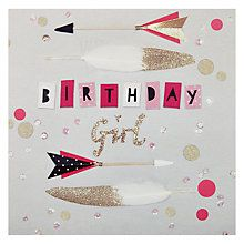 Anna Price Hotchpotch Birthday Girl Greetings Card Online at johnlewis.com