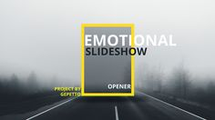Emotional Slideshow I Opener (Special Events) #Envato #Videohive #aftereffects