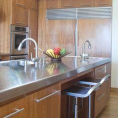 stainless-kitchen