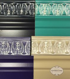 General Finishes Winter White Glaze Effects. Available for sale at Frisco Mercantile ~  Oh Lola! Vintage Home
