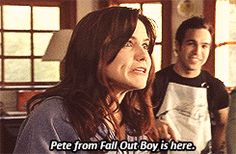 """I got """"Impeccable Guyliner Pete"""" on """"Which Pete Wentz era are you?"""" on Qzzr! What about you?"""