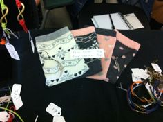 The Hidden Quirks Stall - Phone socks and charms