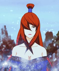 Naruto 30 day challenge. Day 17: Favorite kage. Mei Terumi - Fifth Mizukage. She is extremely strong and kind and overreacts if she can connect the topic to marriage or a husband