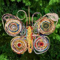 Amazing Recycled Magazine Butterfly Ornament At The Animal Rescue Site (and Many  Others). BONUS Design Inspirations