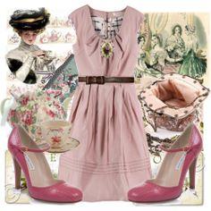 Victorian Tea | Victorian Tea Party - Polyvore