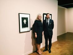 Crown Prince Haakon of Norway and Crown Princess Mette Marit of Norway attended opening of an exhibition at Munch Museum in Oslo, Norway, on Feb 5 2016.
