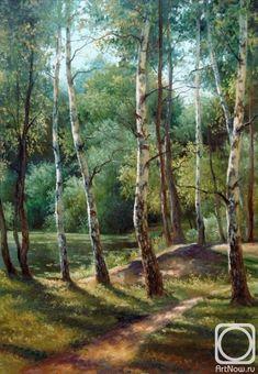 Грохотова Светлана. Шоколадное озеро Watercolor Trees, Watercolor Landscape, Landscape Art, Landscape Paintings, Dream Pictures, Pictures To Paint, Art Pictures, Bob Ross Paintings, Beautiful Forest