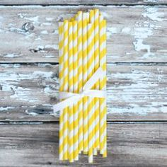 yellow party supplies--the tomkat studio: http://shoptomkat.com/category_54/1/Yellow.htm