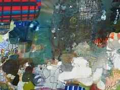 """Josette Urso """"Jet Stream"""" 2014, Oil on canvas, 36 x 48 inches"""