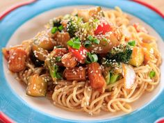 Spicy Veggie Stir-Fry Recipe : Ree Drummond : Food Network