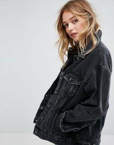 Bershka Oversized Denim Jacket