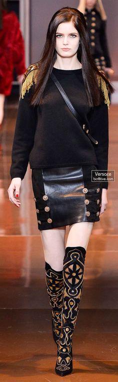 Versace Fall 2014 - Zlata Mangafic