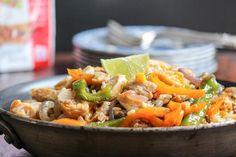 Chicken Fajita Bowls #WeekdaySupper #McSkilletSauce