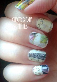 Geordie Nails: Parisian Decals