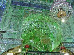 Shah Cheragh is a funerary monument and mosque in Shiraz, Iran. It translates to King of the Light and it's easy to understand why. The jaw-dropping interior of this structure has millions of tiny mirror shards which bounce the light in every direction.