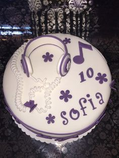 Violetta-Torte - Carlottas Backwahn